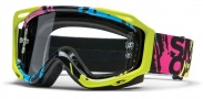 Smith Optics FUEL V.2 SWEAT-X Moto Goggles Goggles - Neon Mission / Clear AFC