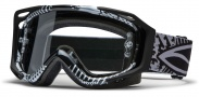 Smith Optics FUEL V.2 SWEAT-X Moto Goggles Goggles - Black - Silver Decoy / Clear AFC
