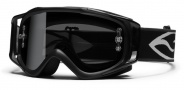 Smith Optics FUEL V.2 SAND MOTO SERIES Goggles Goggles - Black- Grey with Extra Clear AFC Lens