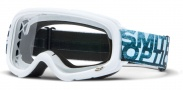 Smith Optics Gambler Mx Moto Goggles Goggles - White / Clear AFC