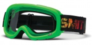 Smith Optics Gambler Mx Moto Goggles Goggles - Green / Clear AFC