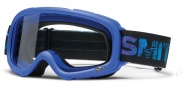 Smith Optics Gambler Mx Moto Goggles Goggles - Blue / Clear AFC