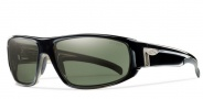 Smith Tenet Sunglasses Sunglasses - Black-Polarized Gray Green