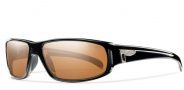 Smith Precept Sunglasses Sunglasses - Black / Polarchromic Copper Mirror Glass