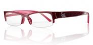 Smith Chainmail Eyeglasses Eyeglasses - Burgundy/Red-QZD