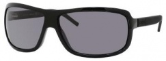 Gucci 1638/S Sunglasses Sunglasses - 0LB0 Black Dark Ruthenium (3H smoke polarized lens)