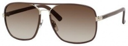Gucci 1943/S Sunglasses Sunglasses - 0UZF Dark Chocolate Leather (CC brown gradient lens)