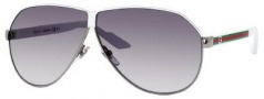 Gucci 1944/S Sunglasses Sunglasses - 0UWS White Ruthenium (JJ gray shaded lens)