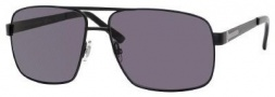 Gucci 1945/S Sunglasses Sunglasses - 0PDE Semi Matte Black (3H smoke polarized lens)