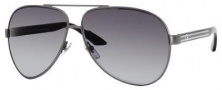 Gucci 1951/S Sunglasses Sunglasses - 0BKS Black Shiny Black (R6 gray lens)