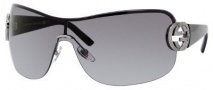 Gucci 2890/S Sunglasses Sunglasses - 0BGY Ruthenium Black (VK gray gradient lens)