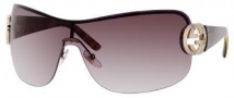 Gucci 2890/S Sunglasses Sunglasses - 0UWW Shiny Brown Havana (QX brown gradient lens)