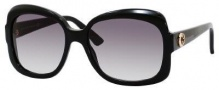 Gucci 3190/S Sunglasses Sunglasses - 0807 Black (BD dark gray gradient lens)