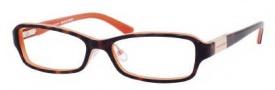 Juicy Couture Wilshire/F Eyeglasses Eyeglasses - 0JDN Tortoise Coral