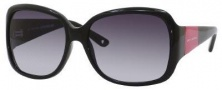Juicy Couture Honey Bunny/S Sunglasses Sunglasses - 0JKH Black Pink (GT gray gradient lens)