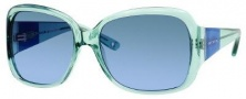 Juicy Couture Honey Bunny/S Sunglasses Sunglasses - 0JKQ Green Crystal (AB green blue gradient lens)