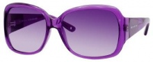 Juicy Couture Honey Bunny/S Sunglasses Sunglasses - 0JKP Purple Crystal (RP plum gradient lens)