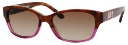 Juicy Couture Mode/S Sunglasses Sunglasses - 0CW7 Brown Horn Pink (Y6 brown gradient lens)