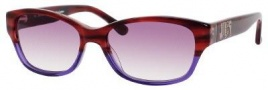 Juicy Couture Mode/S Sunglasses Sunglasses - 0CZ1 Burgundy Horn Purple (2G burgundy gradient lens)