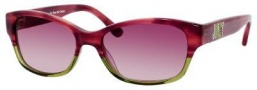 Juicy Couture Mode/S Sunglasses Sunglasses - 0CZ3 Pink Horn Green (WK violet fade lens)