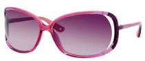 Juicy Couture Shady Day/S Sunglasses Sunglasses - 0JHK Raspberry Pink Fade (2G burgundy gradient lens)