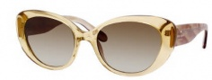 Kate Spade Franca/S Sunglasses Sunglasses - 0JGD Champagne (Y6 brown gradient lens)