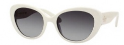 Kate Spade Franca/S Sunglasses Sunglasses - 0EG8 Ivory (Y7 gray gradient lens)