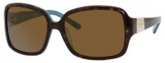 Kate Spade Lulu/P/S Sunglasses Sunglasses - JEYP Tortoise Aqua (VW brown polarized lens)