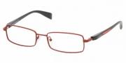 Prada PS 50BV Eyeglasses Eyeglasses - ACE1O1 CORAL DEMI MATTE DEMO LENS