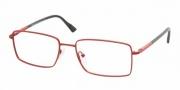 Prada PS 58AV Eyeglasses Eyeglasses - 7BC1O1 CORAL DEMI SHINY DEMO LENS