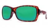 Costa Del Mar Islamorada Sunglasses - Tortoise Frame Sunglasses - Copper Poly. / Costa 580