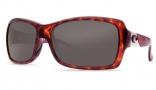 Costa Del Mar Islamorada Sunglasses - Tortoise Frame Sunglasses - Gray Glass / Costa 400