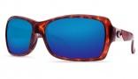 Costa Del Mar Islamorada Sunglasses - Tortoise Frame Sunglasses - Amber Poly. / Costa 580