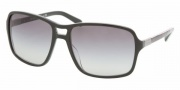 Prada PR 01NS Sunglasses Sunglasses - BRP3M1 TOP GRAY/MILITARY GRAY GRADIENT