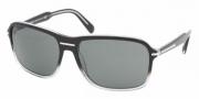 Prada PR 02NS Sunglasses Sunglasses - ZXA1A1 BLACK GRADIENT CRYSTAL GRAY