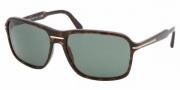 Prada PR 02NS Sunglasses Sunglasses - 2AU3O1 HAVANA GREEN