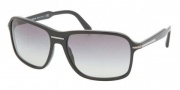 Prada PR 02NS Sunglasses Sunglasses - 1AB3M1 Black / Gray Gradient