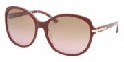 Prada PR 04NSA Sunglasses Sunglasses - BF65P1 Top Ruby / Mimetic Ruby Brown Gradient Pink