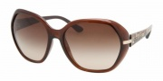 Prada PR 14NS Sunglasses Sunglasses - 4AN6S1 BROWN BROWN GRADIENT