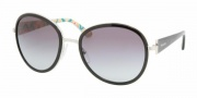Prada PR 51NS Sunglasses Sunglasses - 1BC3M1 SILVER GRAY GRADIENT