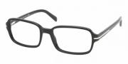 Prada PR 08NV Eyeglasses Eyeglasses - 1AB1O1 BLACK DEMO LENS