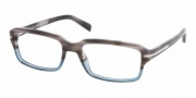 Prada PR 09NV Eyeglasses Eyeglasses - RY01O1 GRAY TORTOISE/DENIM DEMO LENS