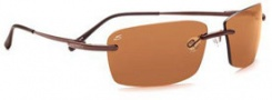 Serengeti Parma Sunglasses Sunglasses - 7447 Espresso / Polar PhD Drivers