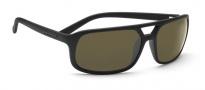 Serengeti Livorno Sunglasses Sunglasses - 7454 Satin Black / 555nm Polarized