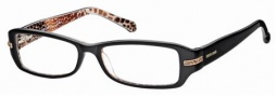 Roberto Cavalli RC0559 Eyeglasses Eyeglasses - 005 - Black/giraffe effect- rose gold