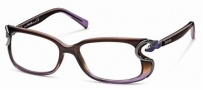 Roberto Cavalli RC0545 Eyeglasses Eyeglasses - 050 - Violet shaded brown- dark ruthenium