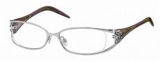 Roberto Cavalli RC0479 Eyeglasses Eyeglasses - 018 - Rhodium-melange violet/green