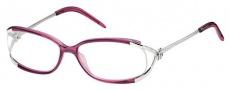Roberto Cavalli RC0497 Eyeglasses Eyeglasses - 081 - Transparent plum, palladium