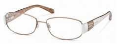 Roberto Cavalli RC0542 Eyeglasses Eyeglasses - 034 - Light bronze- pearl/powder temples
