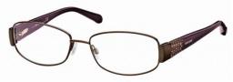 Roberto Cavalli RC0542 Eyeglasses Eyeglasses - 048 - Brown- pearl violet/pearl brown temples